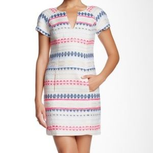 Trina Turk Angela Short Sleeve Sheath Dress